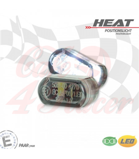 "LED built-in position light set ""Heat"""
