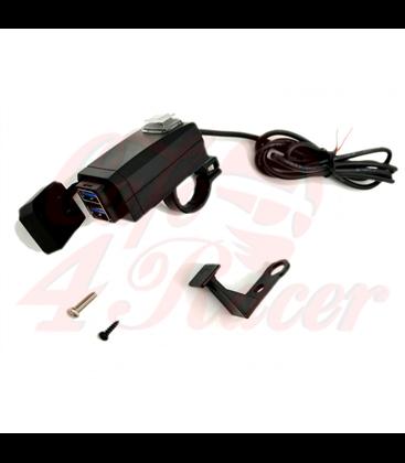 Dual FAST 3.0A vode odolný USB  socket