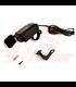 Dual FAST 3.0A waterproof multi-mount USB socket