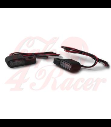LED smerovky krátke / čierne / priehľadné