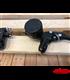 Pair L&R 7/8 inch 22mm black