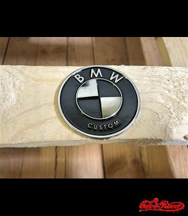 BMW K 75/100/1100/K1 TANK logo 70mm VINTAGE NR2 2pcs
