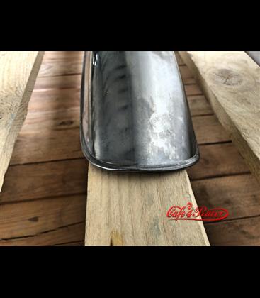 LSL Aluminium mudguard, polished 17 inch  375mm