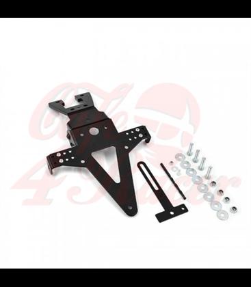 License plate holder HONDA CB1000R  08-17  black  adjustable