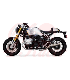 V&H, Hi-Output slip-on brused stainless  14-20 BMW R Nine T