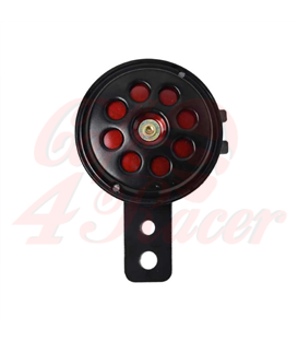 12-Volt Small Horn - Black / Red