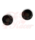 Set of  2 spacers anodized ALU black M12