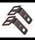 Indicator/Turn Signal Brackets - Under seat  Mount - Black