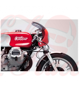 2x sticker CAFE-RACER  white