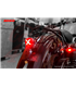 LED taillight with brake light function, GT-02S clear lens e-mark approval