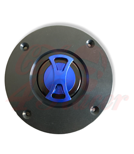 BMW K75/100/1100 Fuel Tank Gas Cap blue