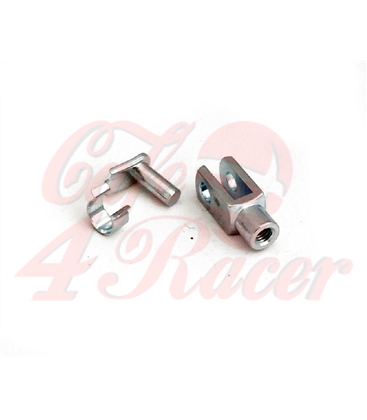 2x  Rearsets  Clevis M6x12mm