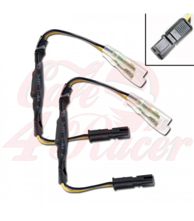 Adapter cables for indicators include resistors BMW F800R  R850GS / R, K1200R, K1300R, R1200GS / R / S, S1000RR