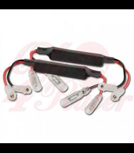 Adapter cables for indicators include resistors TRIUMPH 16-