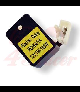 LED flasher relay, HONDA, KAWASAKI and YAMAHA, 12 V, 0.05A to 10A (1-100W)
