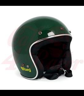 Roeg JETT helmet gloss green