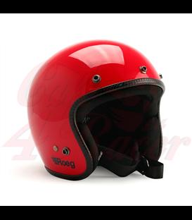 Roeg JETT helmet  flaming red gloss