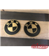 BMW K 75/100/1100/K1 TANK logo 70mm VINTAGE NR5 BRASS  2pcs