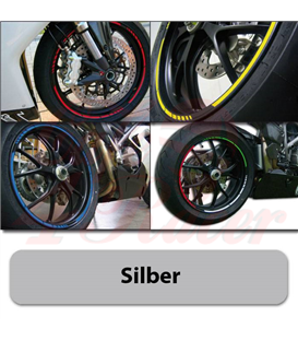 Strips for wheels   GP STYLE Rim size: 16-19 inches SILVER