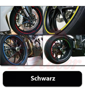 Strips for wheels   GP STYLE Rim size: 16-19 inches BLACK