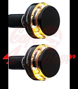 Motogadget m-Blaze Disc (pravá + ľavá) čierna 2ks