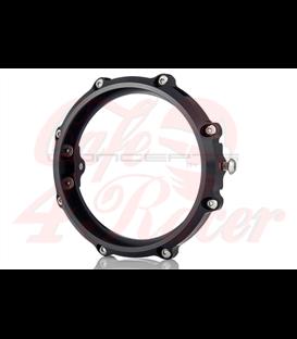 MONZA 5.75 Inch CNC Machined Aluminum LED Headlight Surround - Black