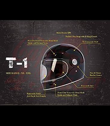 TORC T-1 Full Face Helmet Dreamliner Tan