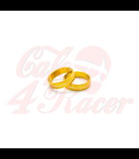 Barracuda RING INSERT BAR END MIRROR gold pair