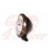 "5.75"" Cafe Racer Headlight H4, Medená & Čierna"