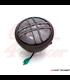 "7.7"" Matte Black LED Headlight + Titan  Grill Cover"
