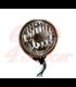 "5.75"" Cafe Racer Headlight H4, Copper & Black"