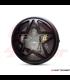 "7.7"" Matte Black LED Headlight + Big Star Grill Cover"