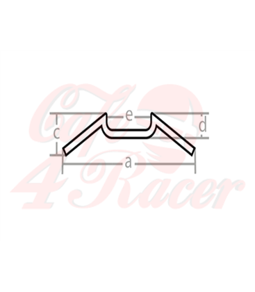 "Cafe Racer M-BAR 7/8""  22mm"