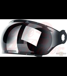 T-1 Bubble Shield Visor  Chrome