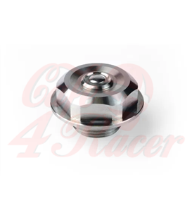 BMW  K Center Nut with Push Button for K Models with 41,3mm forks  K100 & K75 RED or GREEN LED