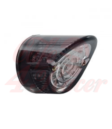 MOTORCYCLE STORE HOUSE LED SHARKNOSE TAILLIGHT  smoke