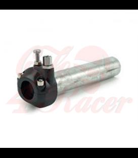 "Universal metal throttle grip 7/8"" handlebars, black"