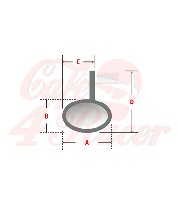 LSL NOVA-RACE handlebar end mirror, short