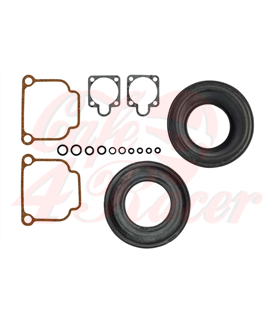 Carb gasket set  For two 40mm Bing carbs  For BMW 2-valve models