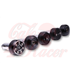 HIGHSIDER Colour ring for Bar End Weights black