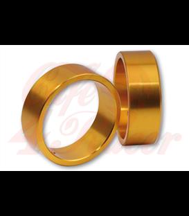 HIGHSIDER Farebný krúžok pre závažia na konci tyče zlaté