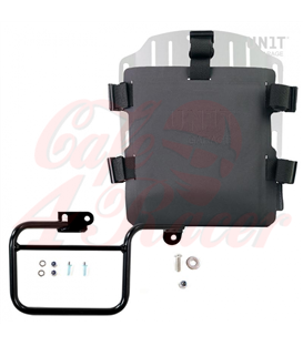 Aluminum bag holder with adjustable front in Hypalon and Quick Release System + subframe (1983-1996)