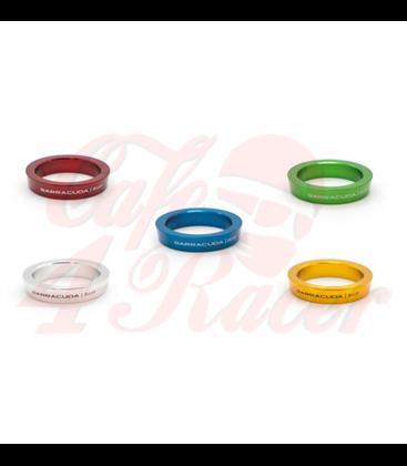 BARRACUDA INSERT ring  GREEN (pair)