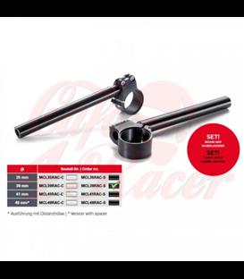 "TRW Sports handlebar ""Custom""  1 inch, 25.4 mm   Ø 39mm"