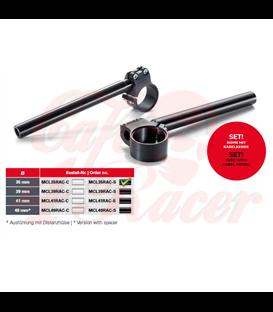 "TRW Sports handlebar ""Custom""  1 inch, 25.4 mm   Ø 35mm"