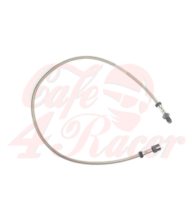 Brake line stainless steel  For /6 and /7 models up to 9/80  With single front disc brake