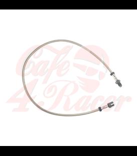 Brzdová hadica  z nehrdzavejúcej ocele  Pre /6 a /7 modely do 9/80 S jednou prednou kotúčovou