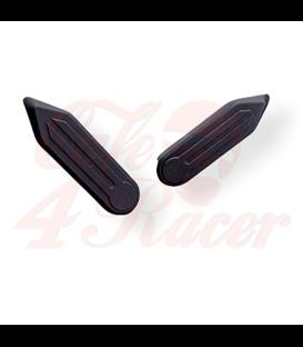 BMW R18 Zrkadlo na riaditká  Pravá strana telo stireborné držiak čierny