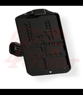 Wunderkind Indian FTR1200  License plate holder '2Stripes' side mount