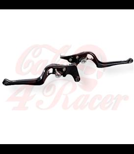Wunderkind Indian FTR1200 footrest system RACING Brake lever  design '2Stripes